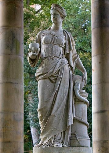 The Greek Goddess… of hygiene?