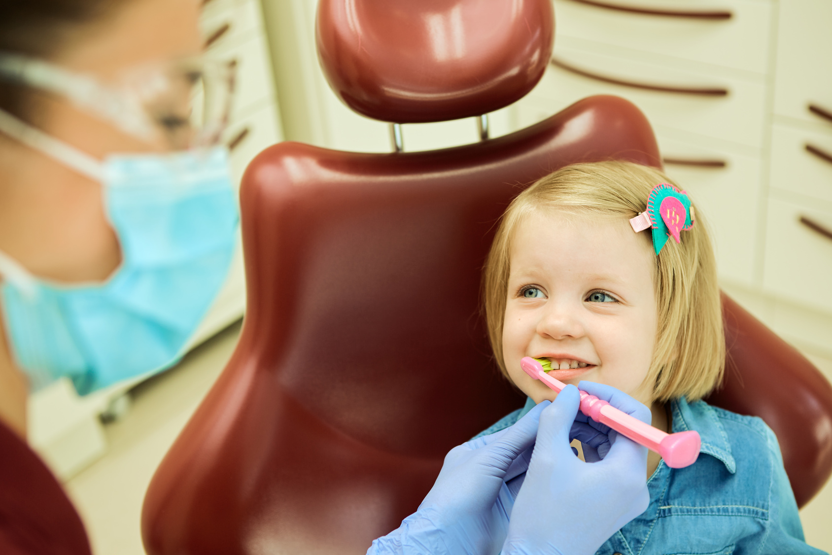 Smilelogic Childs Dental Visit