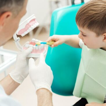 February is National Children's Dental Health Month – Tips for Encouraging Proper Dental Care for Your Child